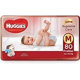 Huggies Fralda Supreme Care Hiper M, 80 Fraldas, A Embalagem Pode Variar