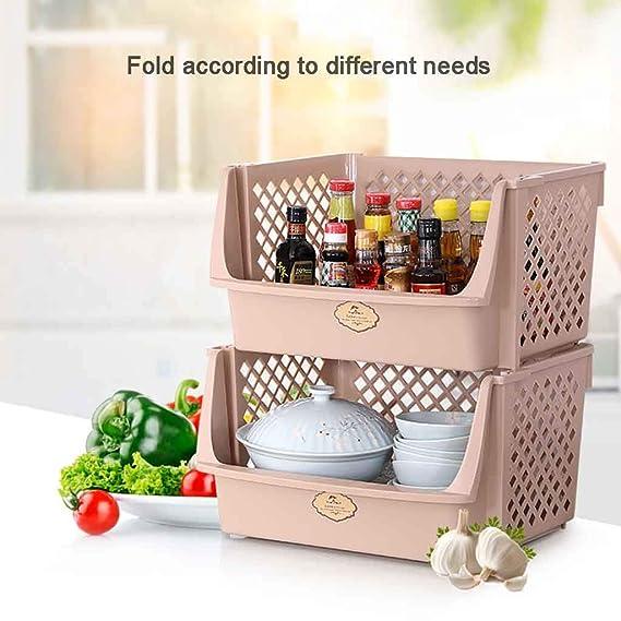 Amazon.com: Soporte para suelo de baño, estante de cocina de ...