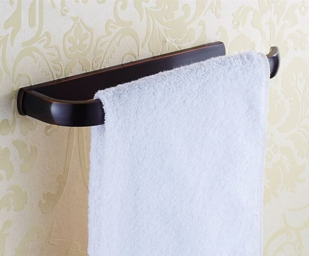 Ello&Allo Oil Rubbed Bronze Towel Bars Bathroom Accessories Wall Mounted Towel Holder, Rust Protection