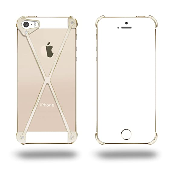 Amazon com: MOD-3: RADIUS case for iPhone 5/5S (GOLD): Cell