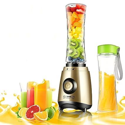 CHENGXI Juicer Multifunción Máquina De Frutas Portátil Automática/Jugo/Batido De Leche/Agitación