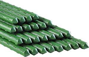 5Ft 25Pcs Plant Stakes Garden Tomato Sticks Supports for Potted Cucumber Strawberry Bean