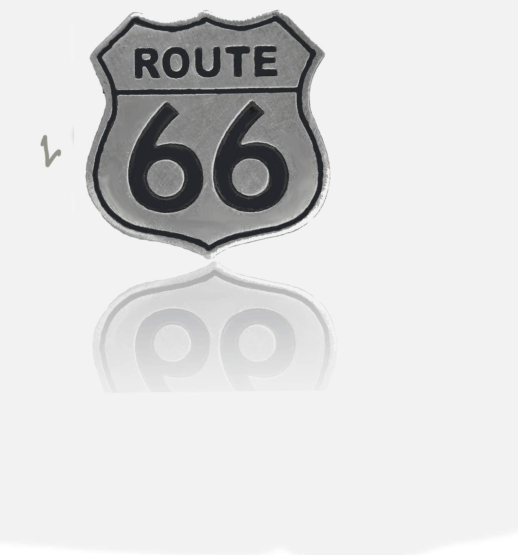 Ruta 66Biker Pin Badge Aguja Chopper Madre Road Harley