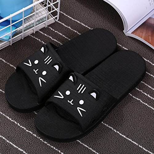 Sonnena Casual Black Style Pool Shoes Street Thick Bottom Can Soft Slip Non Flip Flat Women Sliders Slipper Sandal Men Match Flop Outdoor Bath Beach Sports Socks Indoor fXxrnpAwfq
