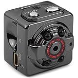 iMusk HD 1080 P/720 P Mini Versteckte Kamera Tragbare Action Video Recorder DV mit Nachtsicht für Indoor & Outdoor Überwachung