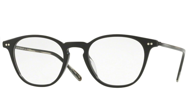 9bb0b8ba9f Amazon.com  New Oliver Peoples OV 5361 U HANKS 1005 BLACK EyeGlasses   Clothing