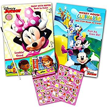 disney minnie mouse paint with water super set kids toddlers mess free book with