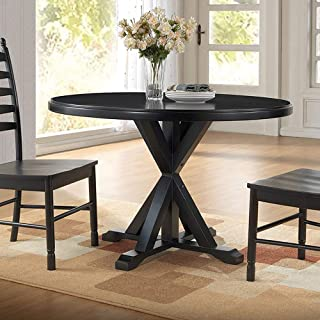 product image for Carolina Chair and Table Porter X Base Round Dining Table Painted