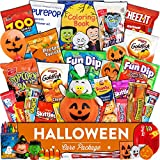 #7: Halloween Care Package (35 count) - Trick or Treat snack box with candy, cookies, chips, crackers, and more for kids, girls, boys, and college students.
