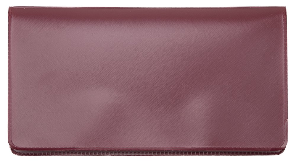 Burgundy Vinyl Checkbook Cover Bardes Products Inc.