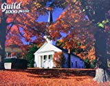 Guild 1000pc. Sunlit Church, Vermont Jigsaw Puzzle by Whitman Coins