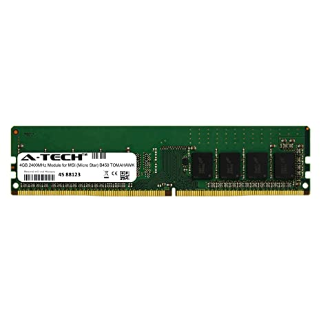 A-Tech 4GB Module for MSI (Micro Star) B450 Tomahawk Desktop
