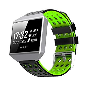 ck12 Smart Watch Tensiómetro Pulsómetro podómetro Pulsera Mando a ...