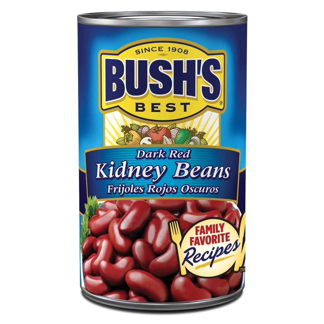 Amazon Com Bush S Best Dark Red Kidney Beans 16oz Grocery Gourmet Food