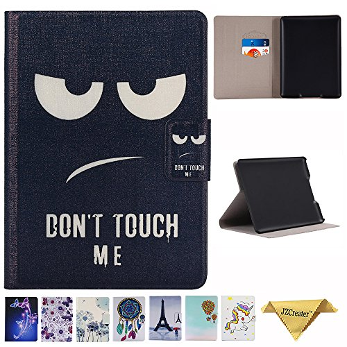 Amazon Kindle Paperwhite Case - JZCreater The Book Style PU Leather Cover Auto Sleep/Wake for All-New Amazon Kindle Paperwhite (Fits All Versions: 2012 2013 2014 and 2015 New 300 PPI), Don't Touch Me