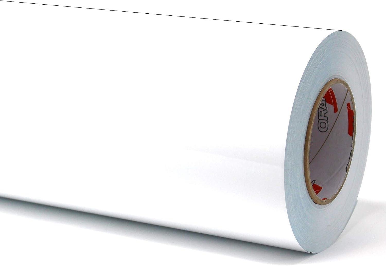 2,69€// M ² 10m Brillant Blanc Traceur 3M Raclette Film Autocollant Meubles