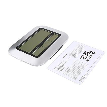 Reloj analógico de 255 mm de diámetro para el hogar con las manos, movimiento del reloj de cuarzo digital, partes del mecanismo ...