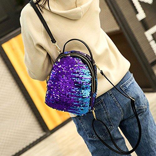 hombro Chaufly mujer Azul al para Bolso ATqTErw0