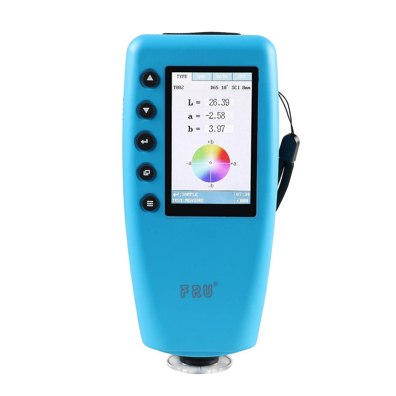 BELEY 8 mm Digital Precise Port/átil Color Analizador Color/ímetro Diferencia de Color Medidor de Medidor con visualizaci/ón de color