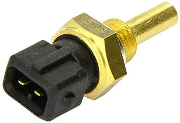 HELLA 6PT 009 107-501 Sensor, temperatura del refrigerante, Número de conexiones 2, con junta: Amazon.es: Coche y moto