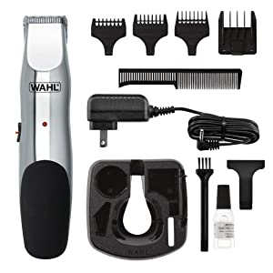 Wahl Clipper Groomsman Trimmer for Men,for Beard, Mustache, Stubble, Rechargeable men's Grooming Kit, Great Holiday Gift for men by the Brand used by Professionals #9916-817