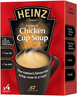 product image for Heinz Cream of Chicken Cup Soup - 68g - Pack of 4 (68g x 4)
