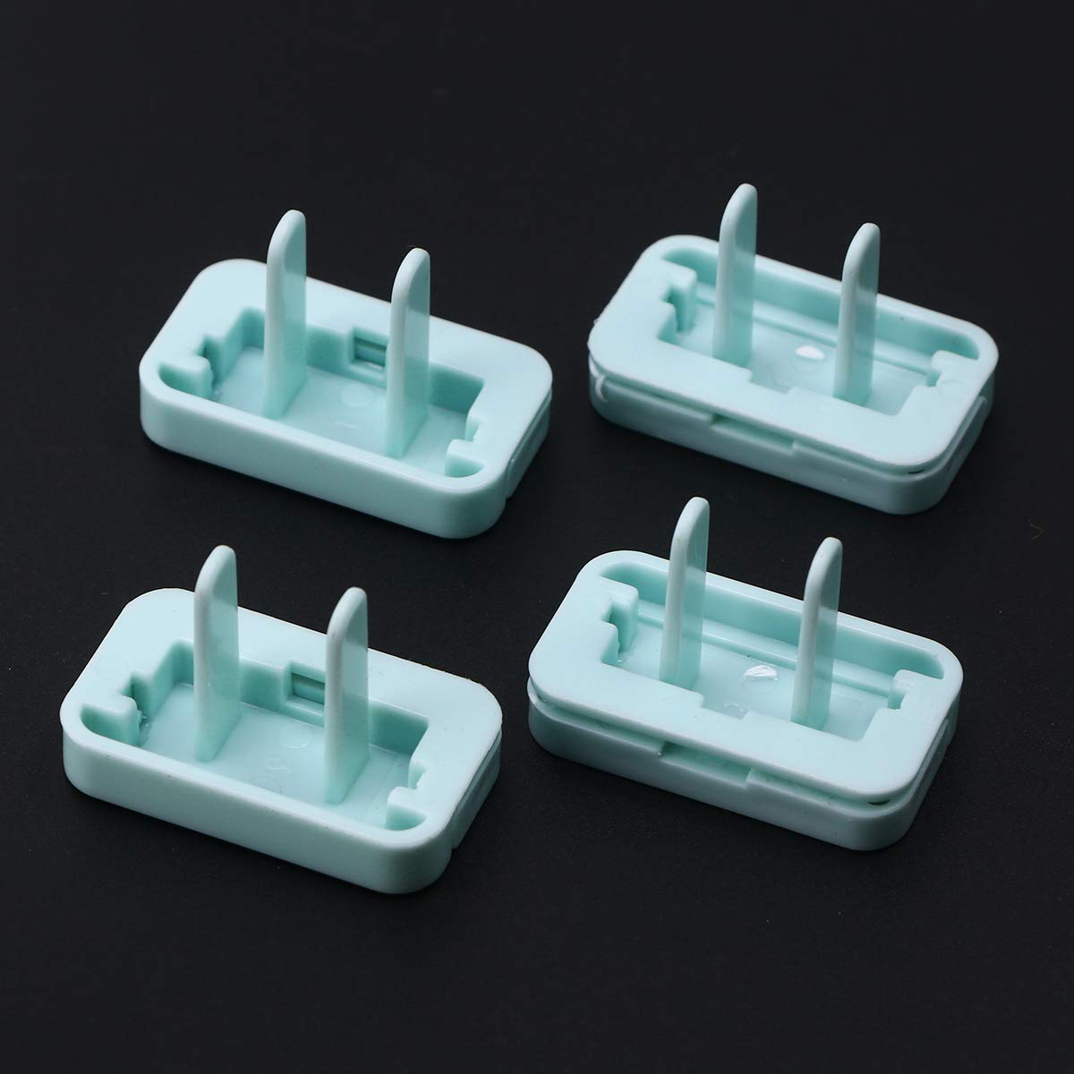 blau Toyvian Baby Steckdosensicherung Kinder Steckdosenschutz Steckdosenabdeckung Steckdosen Staubschutz 8 St/ücke