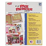 C-Line Memory Book 8 x 8 Inch Scrapbook Page Protector Combo Kit, 15 Assorted Pages per Pack (66047)