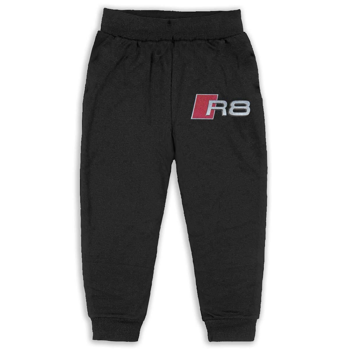 NEST-Homer Childrens Sweatpants R8 Sports Car Boys and Girls Jogger Long Pants Sweatpants Leggings