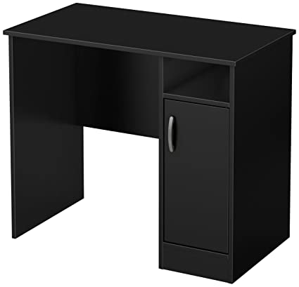 South Shore Axess Work Desk Small Pure Black
