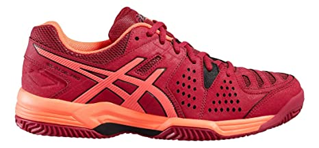 ASICS - Gel Padel Pro 3 SG, Color Rojo, Talla UK-6.5: Amazon ...