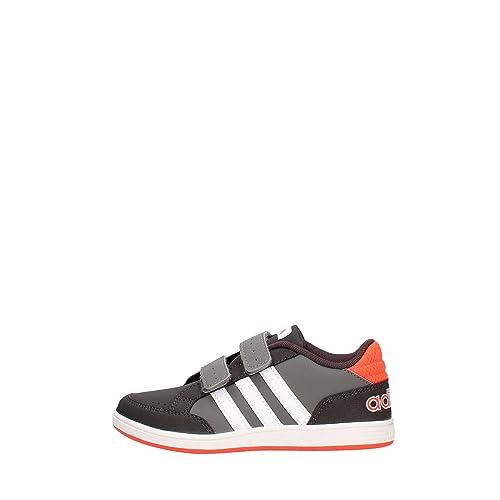 Adidas Neo HOOPS CMF C sneakers grigio scarpe bambino AQ1656 32