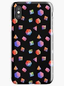 Rainbow Dice Phone Case for iPhone X