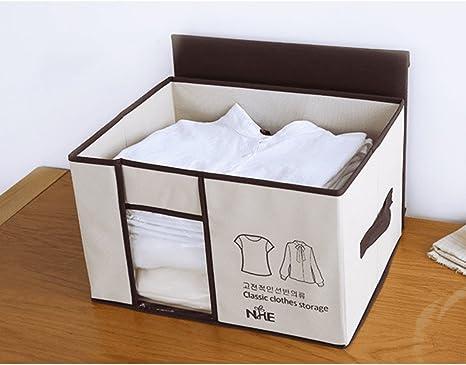 LIUYULIN Caja De Almacenaje De Ropa Edredón Caja De Almacenamiento Pequeño Cuadro De Ordenación Caja De