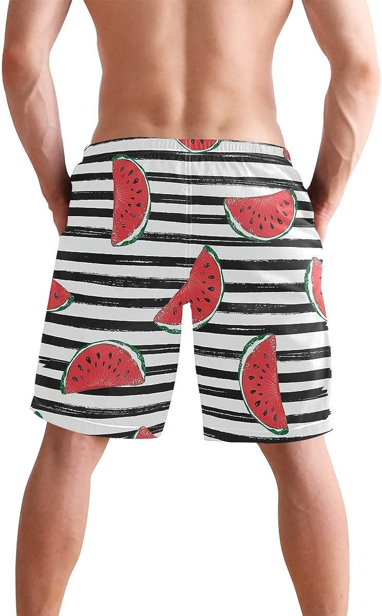 Coloranimal Mens Swim Trunks Quick Dry Funny Shorts with Mesh Lining Swimwear Beachwear