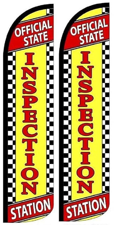 Brake Service Windless Standard Size Polyester Swooper Flag Sign Banner Pk of 3
