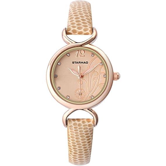 Dial impermeable tendencia de moda casual/Reloj de las mujeres-B