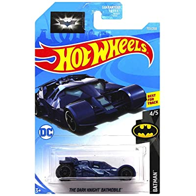 Hot Wheels The Dark Knight Batmobile Diecast Car 1:64 Scale: Toys & Games