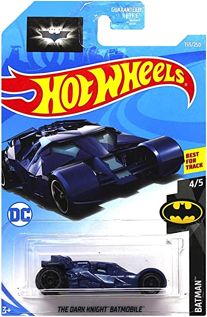 Hot Wheels The Dark Knight Batmobile Diecast Car 1:64 Scale