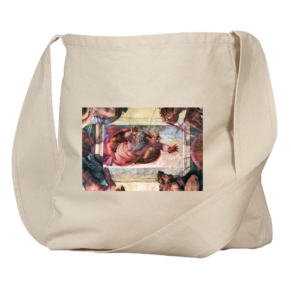 Creation Of Marine Animals (Michelangelo) Organic Cotton Canvas Market Bag