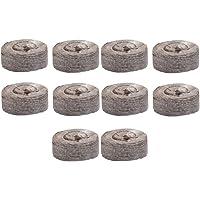 LOVIVER 10 Stück Torf Pellets Quelltabletten Torfquelltöpfe Gewächshaus für Gartenarbeit, Gute Luftdurchlässigkeit