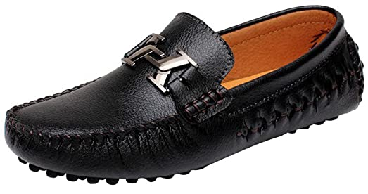 3631 New Mens Casual Leather Loafers Slip-on Smart Driving Shoes