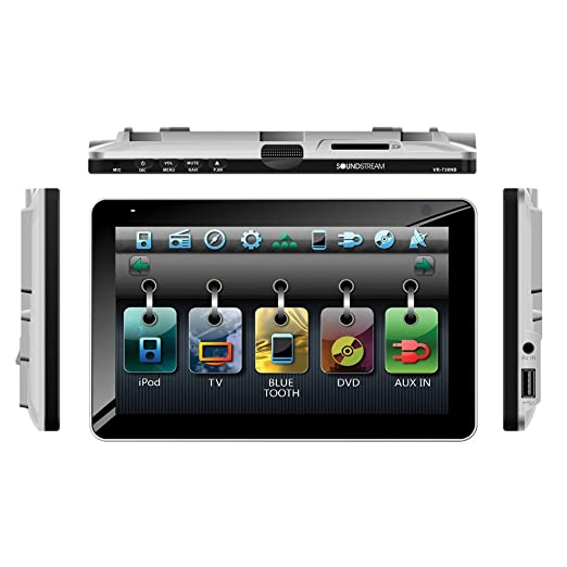 613tN g3UxL._SX522_ amazon com soundstream vr 738nbt bluetooth enabled single din in soundstream vr-931nb wire harness at bayanpartner.co