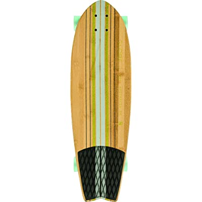 "GLOBE HG Pin City Cruiser Board, Clear Water/Green, 30"" : Sports & Outdoors"