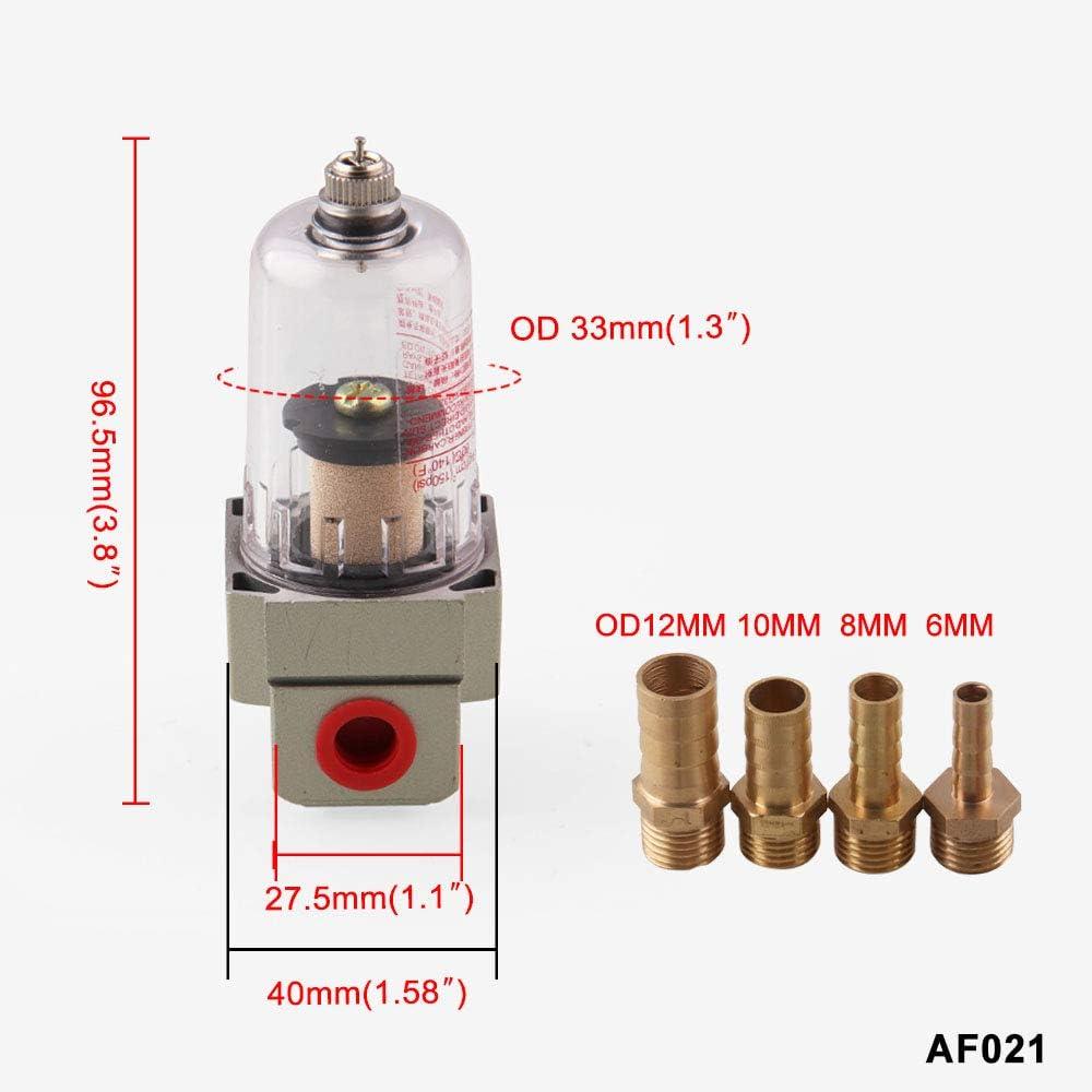 KKmoon Universal Tanque del Dep/ósito de Captura del Separador de Aceite del Motor puede Filtrar las Impurezas