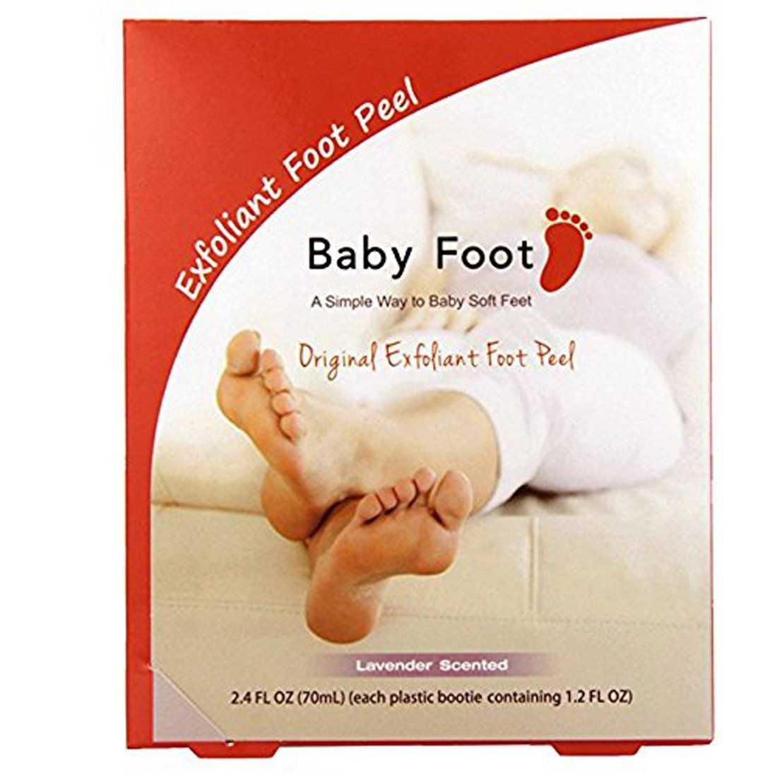 Amazon : Baby Foot Exfoliant Foot Peel, Lavender Scented, 24 Fl Oz :  Corn And Callus Treatment Products : Beauty