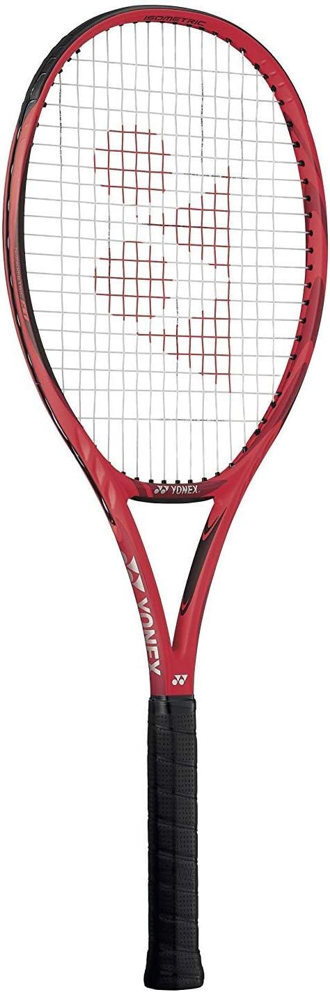 Yonex VCORE 98 Lite 16x19 (285g) テニスラケット ストリング カスタムストリングカラー (デニス シャポバロフのラケット) 白い String 4 3/8\