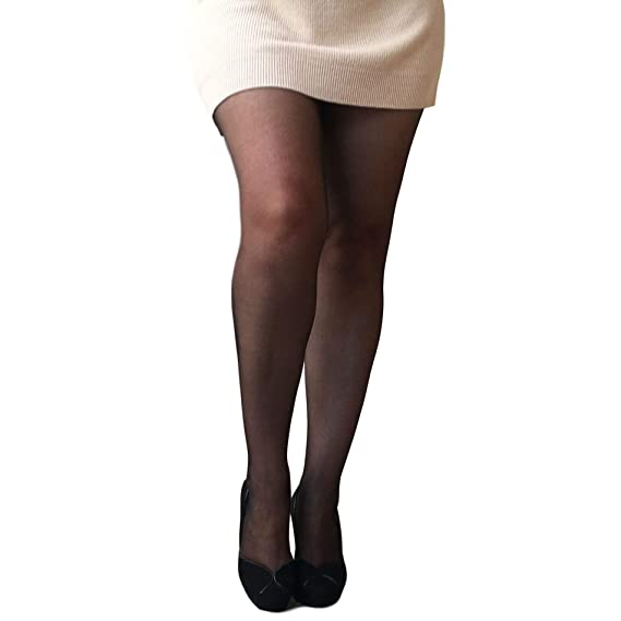 fef612db2 Essexee Legs Women s Plus Size Open Gusset Tights. EL604. 20DEN. 1 Pair.   Amazon.co.uk  Clothing