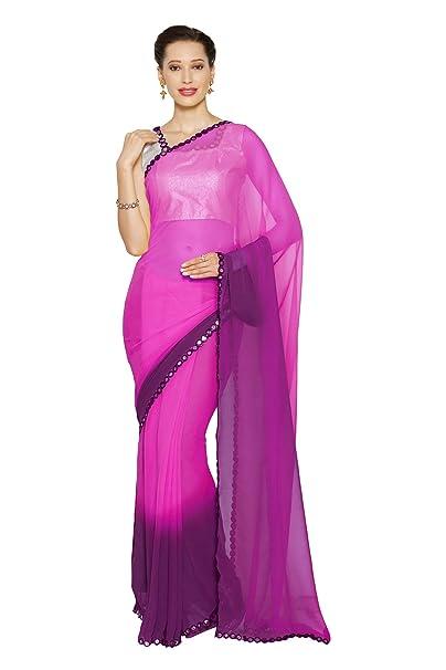 Amazon.com: Bollywood Sari mujer fiesta desgaste Mirchi moda ...