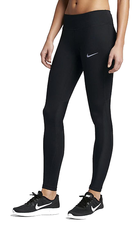 Women 's Nike Power Runningタイツ X-Large ブラック B01FYYELMO